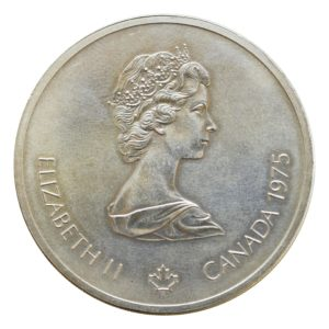 Canada 10 Dollars 1976 Random Reverse Design