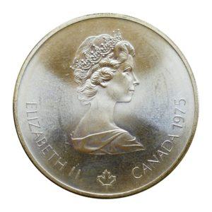Canada 5 Dollars 1976 Random Reverse Design