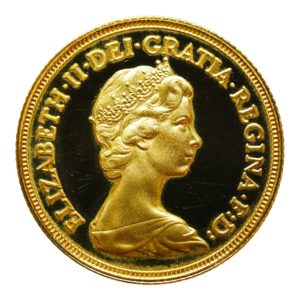 Great Britain Sovereign 1980 Proof