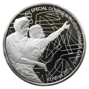 Greece 10 Euro Special Olympics Highlight 2011 Proof